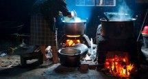 masak di dapur kuno